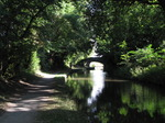 SX09669 Sunlit bridge over Monmouthshire and Brecon Canal.jpg